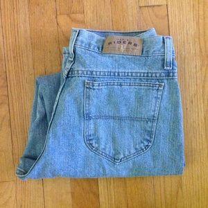 1990s DENIM RIDERS straight leg jeans